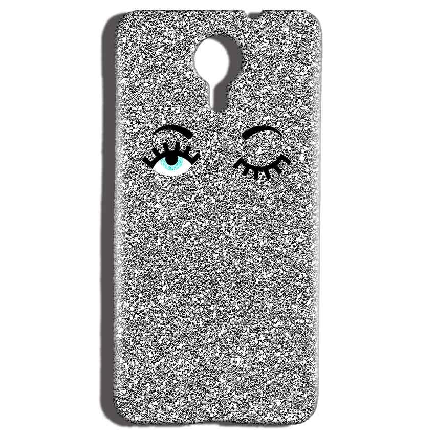 Micromax Canvas Nitro 4g E455 Mobile Covers Cases Glitter Eye Wink - Lowest Price - Paybydaddy.com