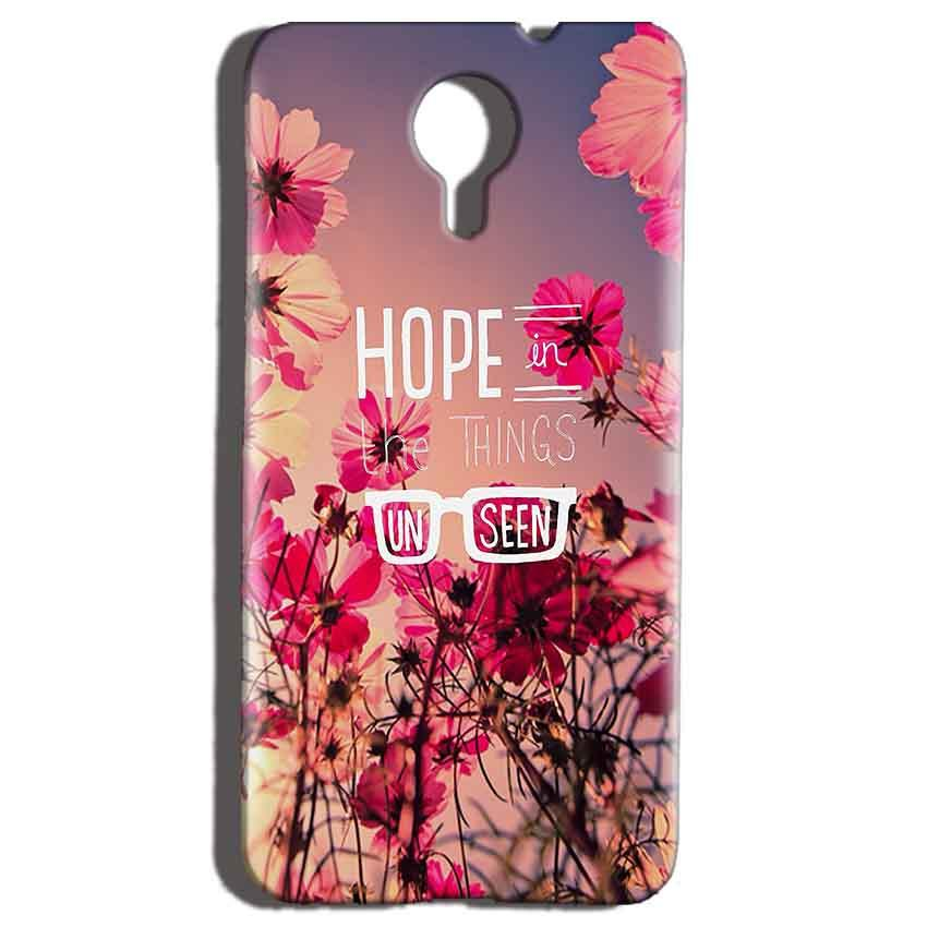 Micromax Canvas Nitro 4g E455 Mobile Covers Cases Hope in the Things Unseen- Lowest Price - Paybydaddy.com