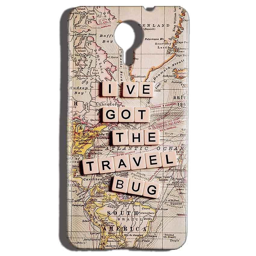 Micromax Canvas Nitro 4g E455 Mobile Covers Cases Live Travel Bug - Lowest Price - Paybydaddy.com