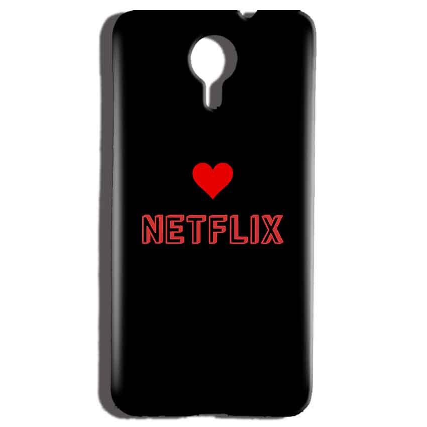 Micromax Canvas Nitro 4g E455 Mobile Covers Cases NETFLIX WITH HEART - Lowest Price - Paybydaddy.com