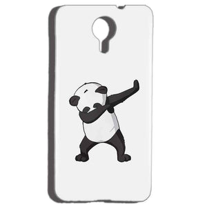 Micromax Canvas Nitro 4g E455 Mobile Covers Cases Panda Dab - Lowest Price - Paybydaddy.com