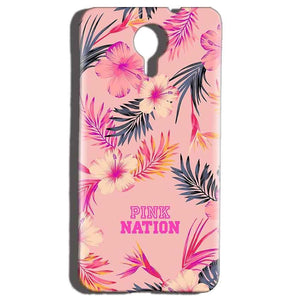 Micromax Canvas Nitro 4g E455 Mobile Covers Cases Pink nation - Lowest Price - Paybydaddy.com