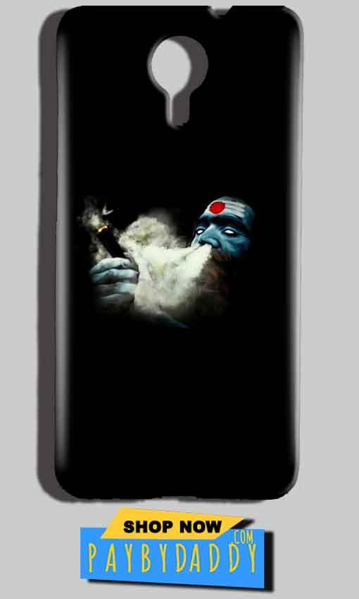 Micromax Canvas Nitro 4g E455 Mobile Covers Cases Shiva Aghori Smoking - Lowest Price - Paybydaddy.com
