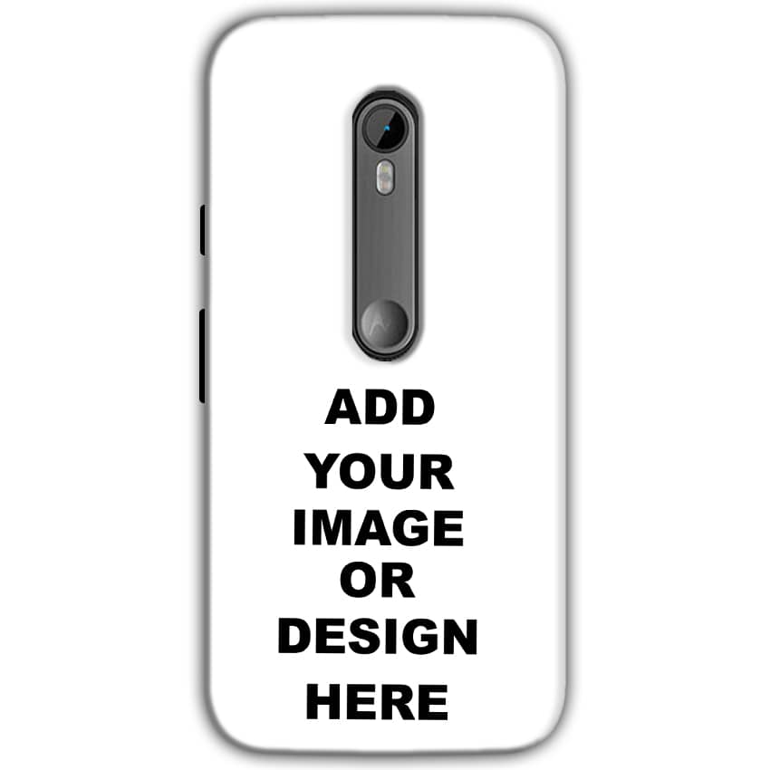 Customized Moto G Turbo Edition Mobile Phone Covers & Back Covers with your Text & Photo