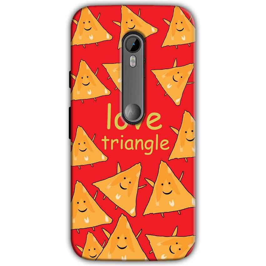 Moto G Turbo Edition Mobile Covers Cases Love Triangle - Lowest Price - Paybydaddy.com
