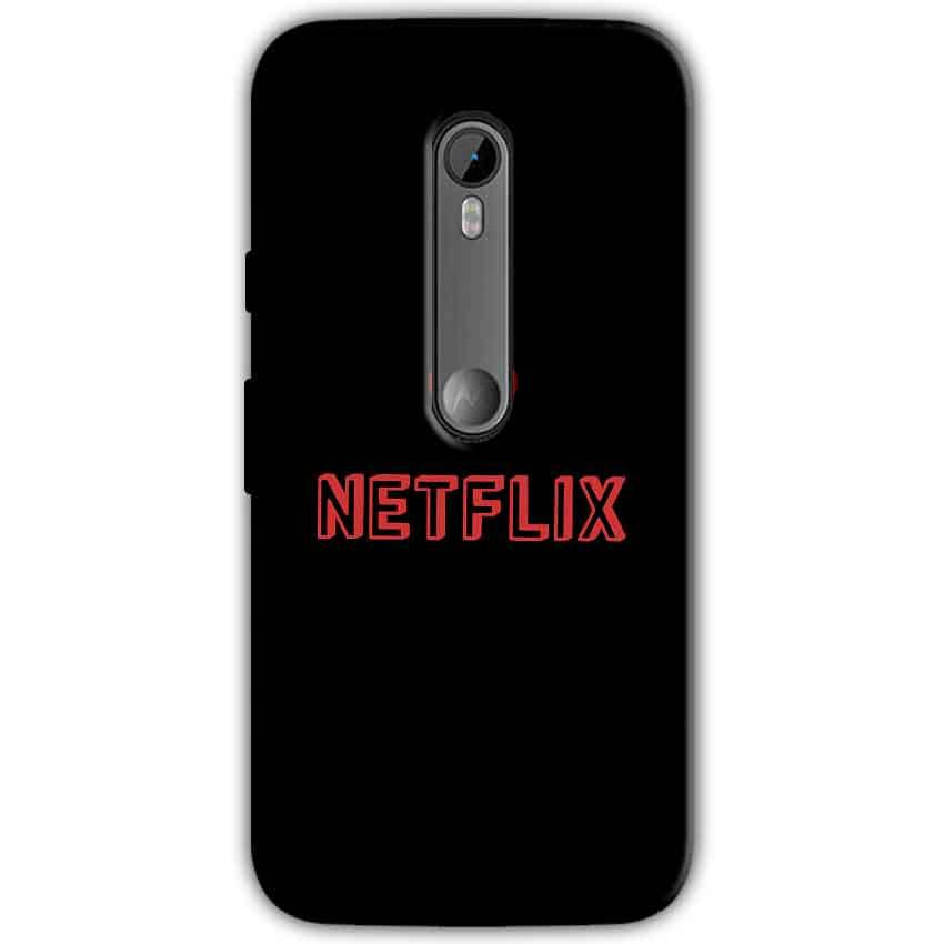 Moto G Turbo Edition Mobile Covers Cases NETFLIX WITH HEART - Lowest Price - Paybydaddy.com