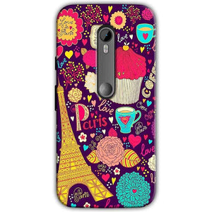 Moto G Turbo Edition Mobile Covers Cases Paris Sweet love - Lowest Price - Paybydaddy.com