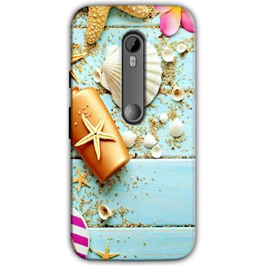 Moto G Turbo Edition Mobile Covers Cases Pearl Star Fish - Lowest Price - Paybydaddy.com