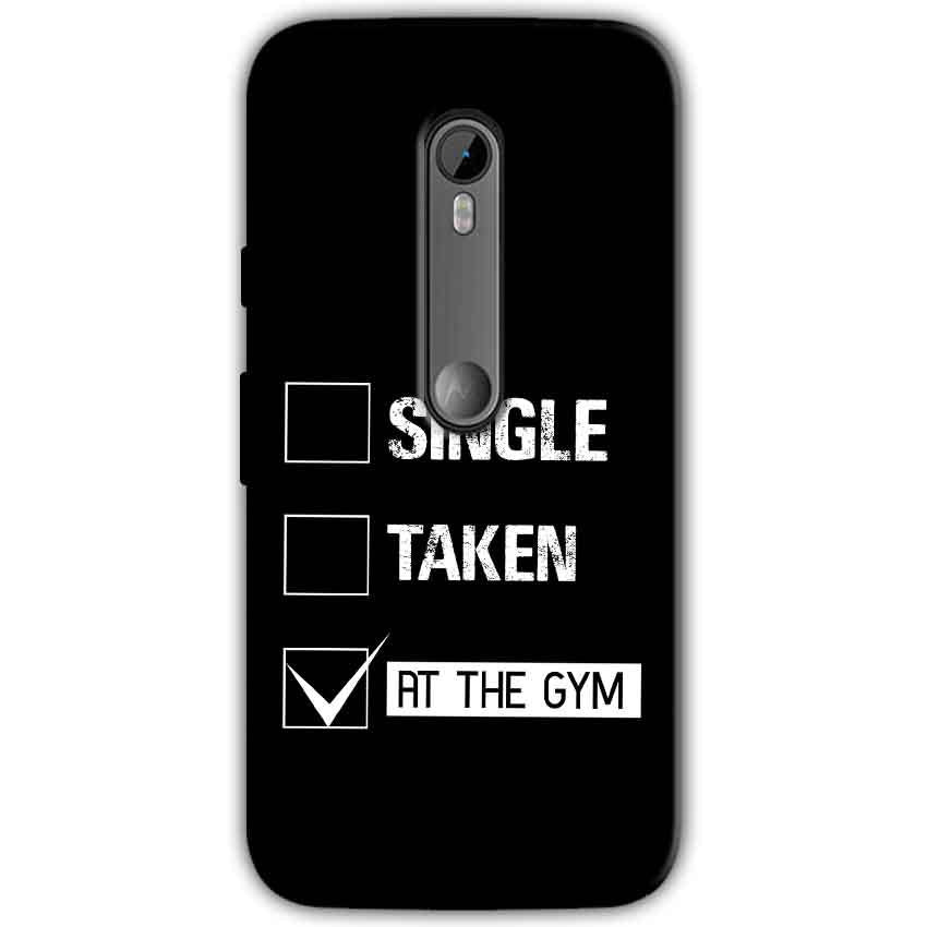 Moto G Turbo Edition Mobile Covers Cases Single Taken At The Gym - Lowest Price - Paybydaddy.com