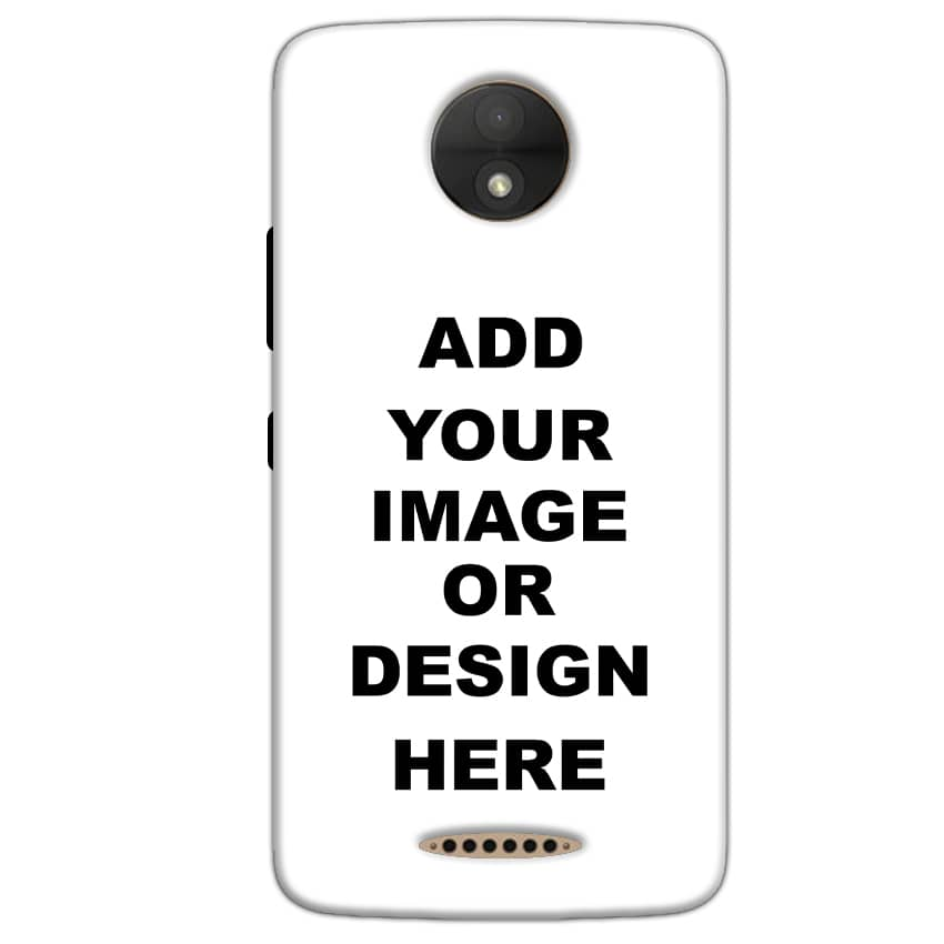Customized Motorola Moto C Mobile Phone Covers & Back Covers with your Text & Photo