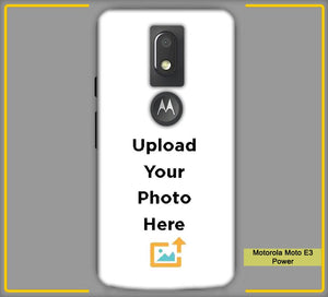 CustomizedIntex Motorola Moto E3 Power4s Mobile Phone Covers & Back Covers with your Text & Photo