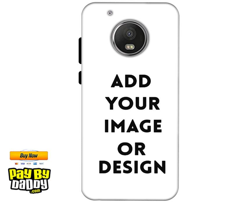Customized Motorola Moto G5 Mobile Phone Covers & Back Covers with your Text & Photo