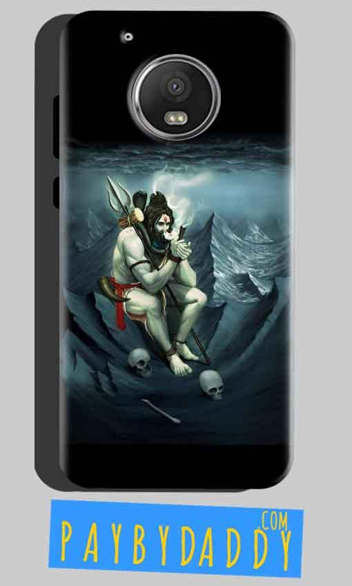 Motorola Moto G5 Plus Mobile Covers Cases Shiva Smoking - Lowest Price - Paybydaddy.com