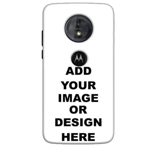 Customized Motorola Moto G6 Play Mobile Phone Covers & Back Covers with your Text & Photo