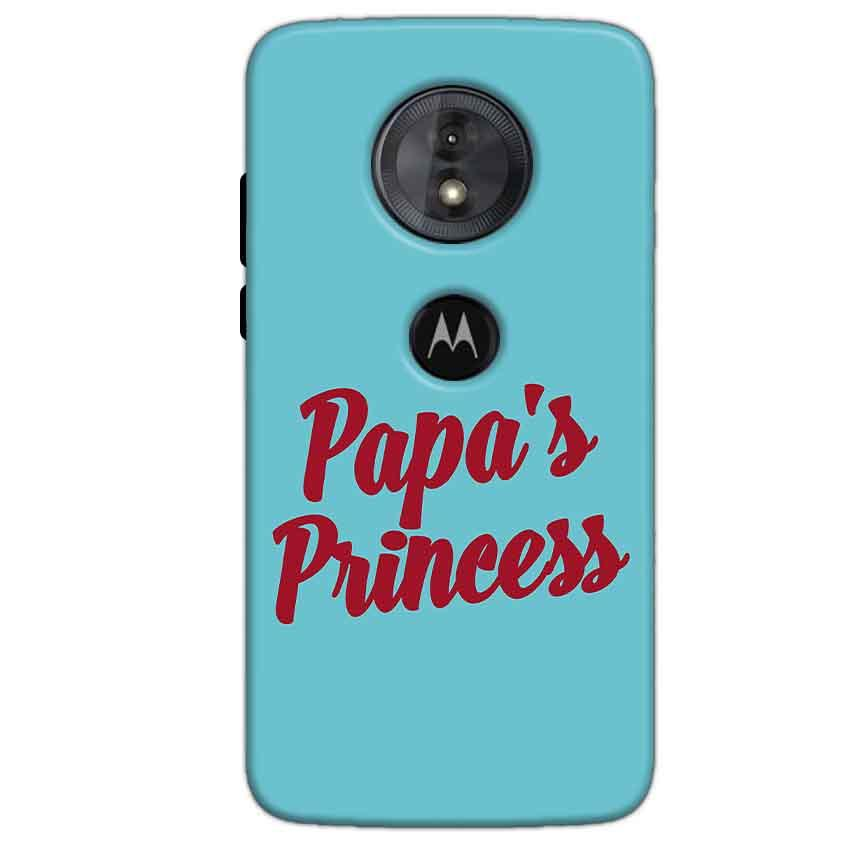 Motorola Moto G6 Play Mobile Covers Cases Papas Princess - Lowest Price - Paybydaddy.com