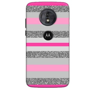 Motorola Moto G6 Play Mobile Covers Cases Pink colour pattern - Lowest Price - Paybydaddy.com