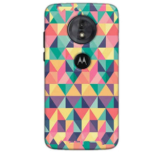 Motorola Moto G6 Play Mobile Covers Cases Prisma coloured design - Lowest Price - Paybydaddy.com