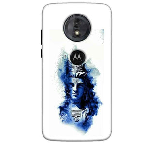 Motorola Moto G6 Play Mobile Covers Cases Shiva Blue White - Lowest Price - Paybydaddy.com