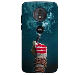 Motorola Moto G6 Play Mobile Covers Cases Shiva Hand With Clilam - Lowest Price - Paybydaddy.com
