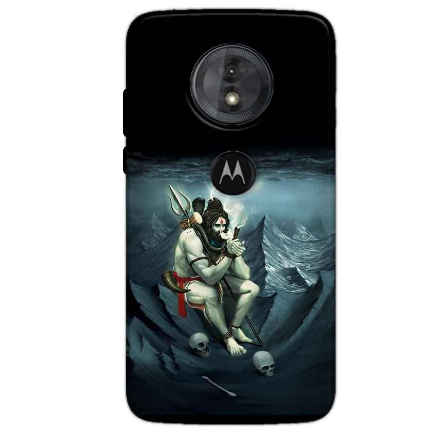 Motorola Moto G6 Play Mobile Covers Cases Shiva Smoking - Lowest Price - Paybydaddy.com