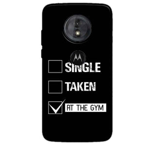 Motorola Moto G6 Play Mobile Covers Cases Single Taken At The Gym - Lowest Price - Paybydaddy.com