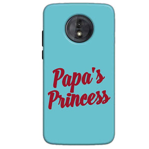 Motorola Moto G6 Play Without Cut Mobile Covers Cases Papas Princess - Lowest Price - Paybydaddy.com