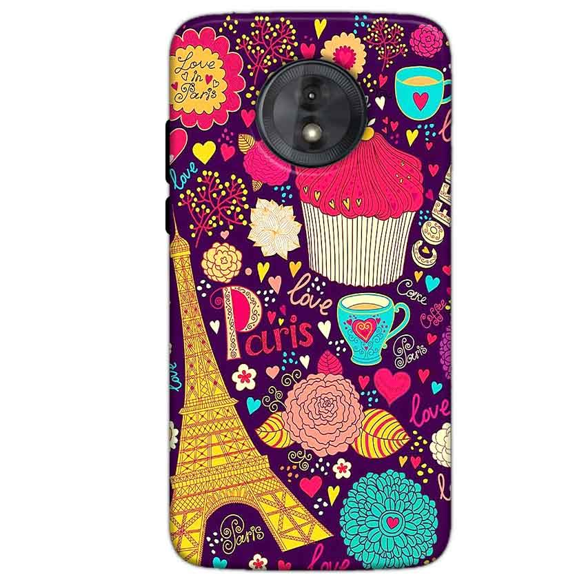 Motorola Moto G6 Play Without Cut Mobile Covers Cases Paris Sweet love - Lowest Price - Paybydaddy.com