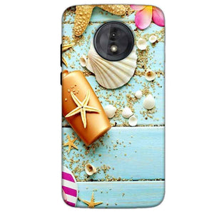 Motorola Moto G6 Play Without Cut Mobile Covers Cases Pearl Star Fish - Lowest Price - Paybydaddy.com
