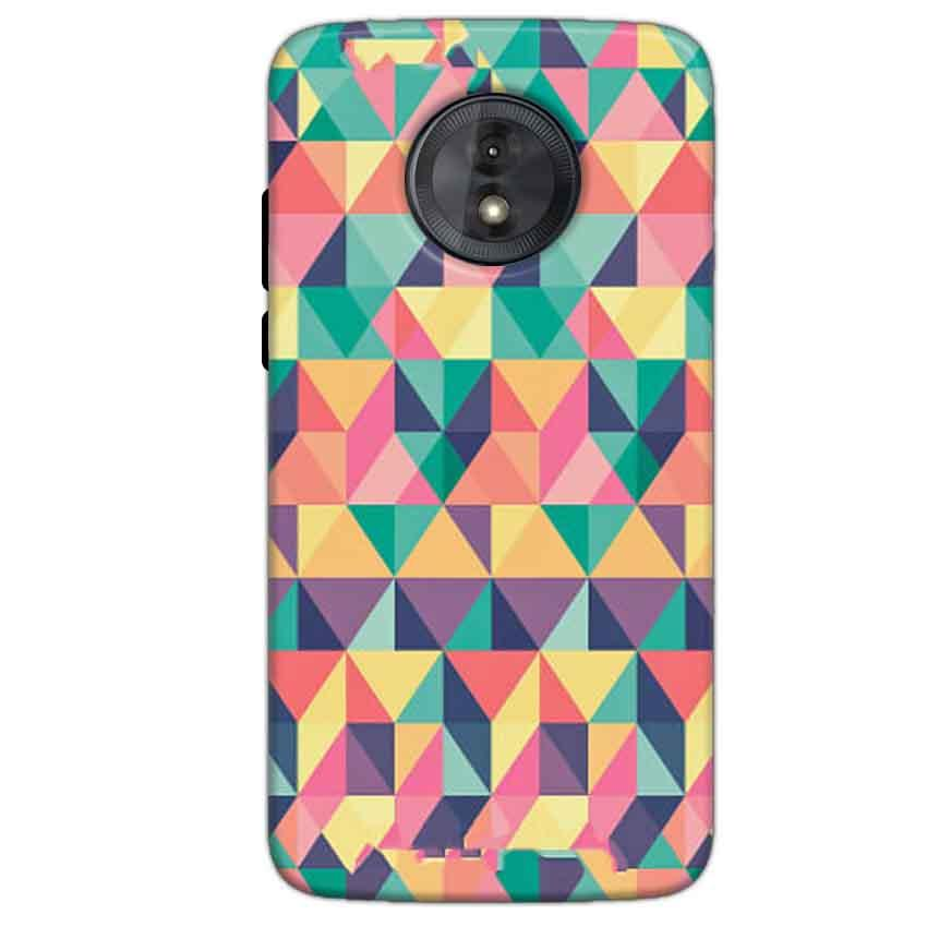 Motorola Moto G6 Play Without Cut Mobile Covers Cases Prisma coloured design - Lowest Price - Paybydaddy.com