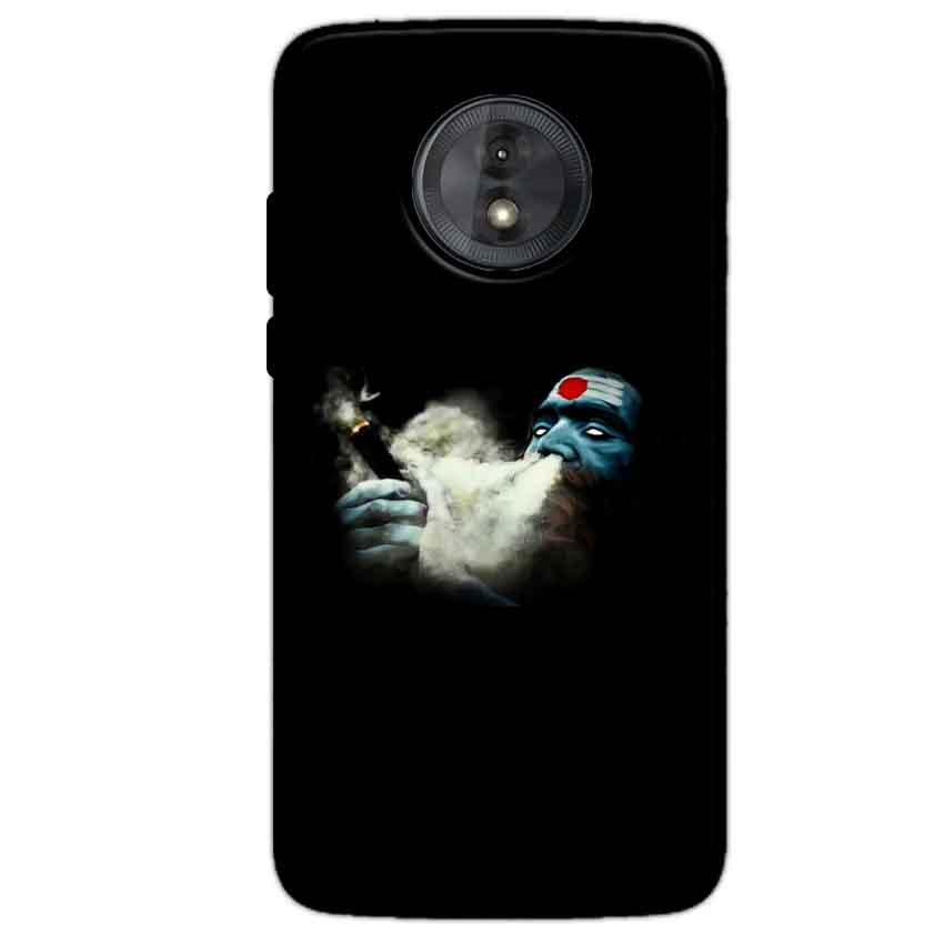Motorola Moto G6 Play Without Cut Mobile Covers Cases Shiva Aghori Smoking - Lowest Price - Paybydaddy.com