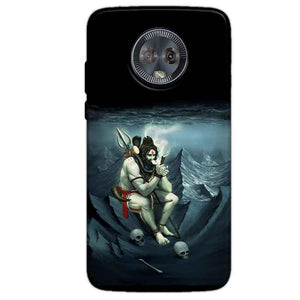 Motorola Moto G6 Mobile Covers Cases Shiva Smoking - Lowest Price - Paybydaddy.com
