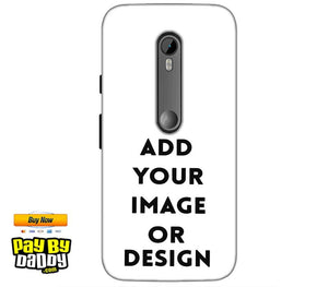 Customized Motorola Moto G 3rd gen Mobile Phone Covers & Back Covers with your Text & Photo