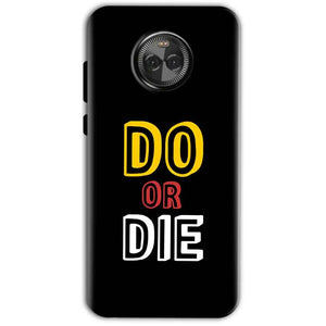 Motorola Moto X4 Mobile Covers Cases DO OR DIE - Lowest Price - Paybydaddy.com