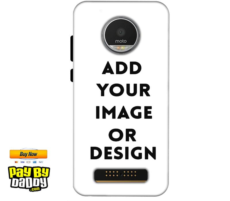 Customized Motorola Moto Z2 Play Mobile Phone Covers & Back Covers with your Text & Photo