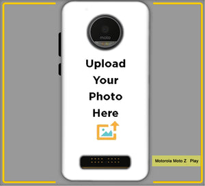 Customized Motorola Moto Z Play Mobile Phone Covers & Back Covers with your Text & Photo