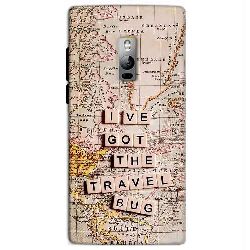 One Plus 2 Two Mobile Covers Cases Live Travel Bug - Lowest Price - Paybydaddy.com