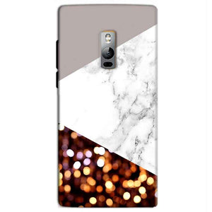 One Plus 2 Two Mobile Covers Cases MARBEL GLITTER - Lowest Price - Paybydaddy.com