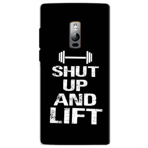 One Plus 2 Two Mobile Covers Cases Shut Up And Lift - Lowest Price - Paybydaddy.com