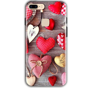 One Plus 5T Mobile Covers Cases Hearts- Lowest Price - Paybydaddy.com