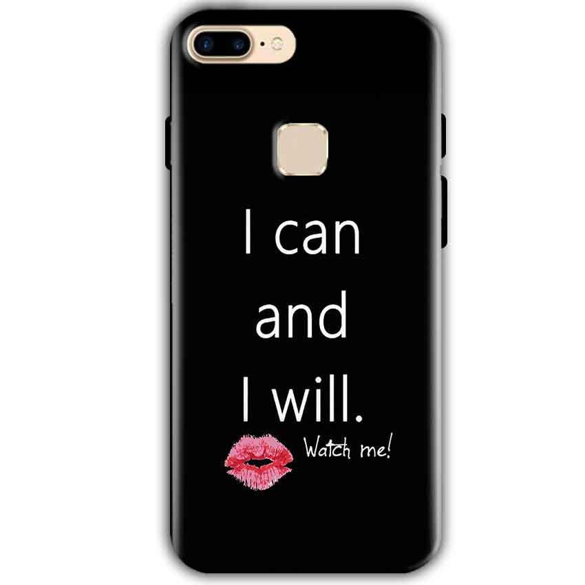 One Plus 5T Mobile Covers Cases i can and i will Lips - Lowest Price - Paybydaddy.com