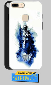 One Plus 5T Mobile Covers Cases Shiva Blue White - Lowest Price - Paybydaddy.com