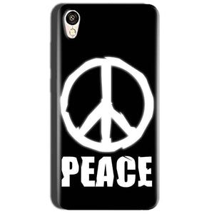Oppo A37 Mobile Covers Cases Peace Sign In White - Lowest Price - Paybydaddy.com