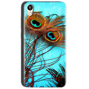 Oppo A37 Mobile Covers Cases Peacock blue wings - Lowest Price - Paybydaddy.com