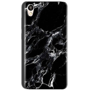 Oppo A37 Mobile Covers Cases Pure Black Marble Texture - Lowest Price - Paybydaddy.com