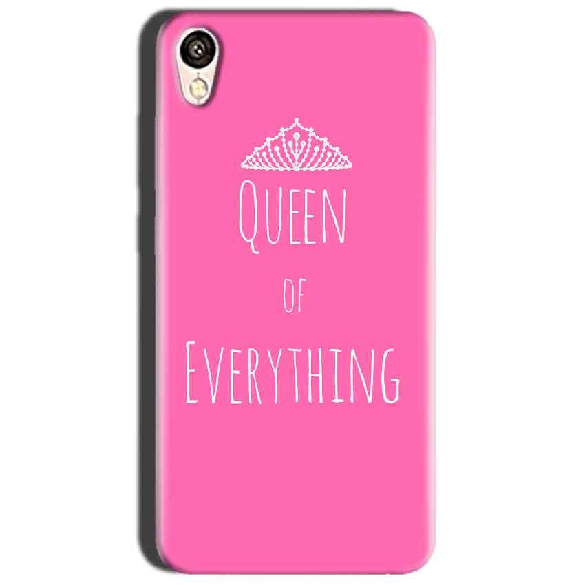 Oppo A37 Mobile Covers Cases Queen Of Everything Pink White - Lowest Price - Paybydaddy.com