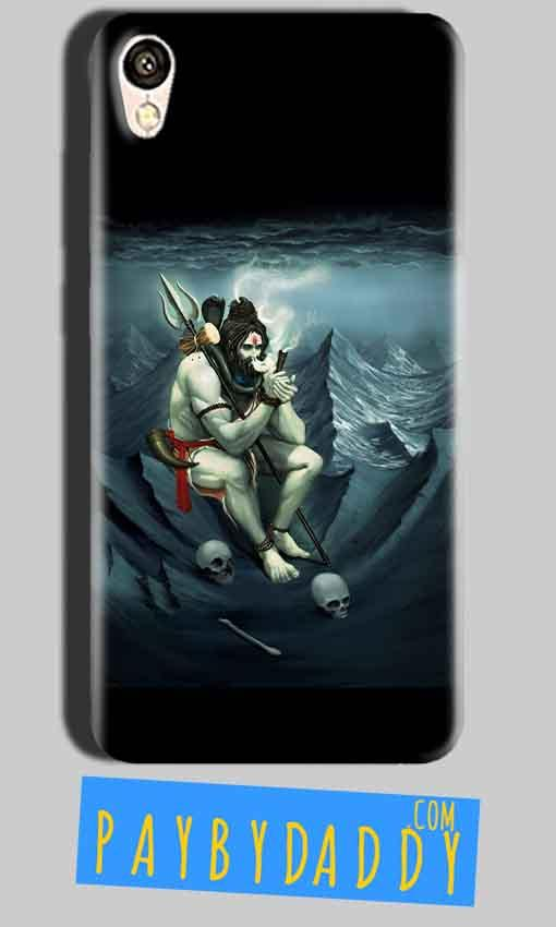 Oppo A37 Mobile Covers Cases Shiva Smoking - Lowest Price - Paybydaddy.com