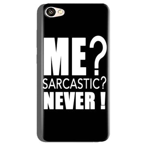 Oppo A71 Mobile Covers Cases Me sarcastic - Lowest Price - Paybydaddy.com