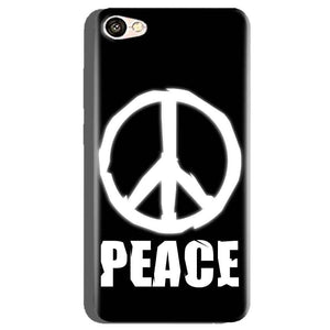 Oppo A71 Mobile Covers Cases Peace Sign In White - Lowest Price - Paybydaddy.com