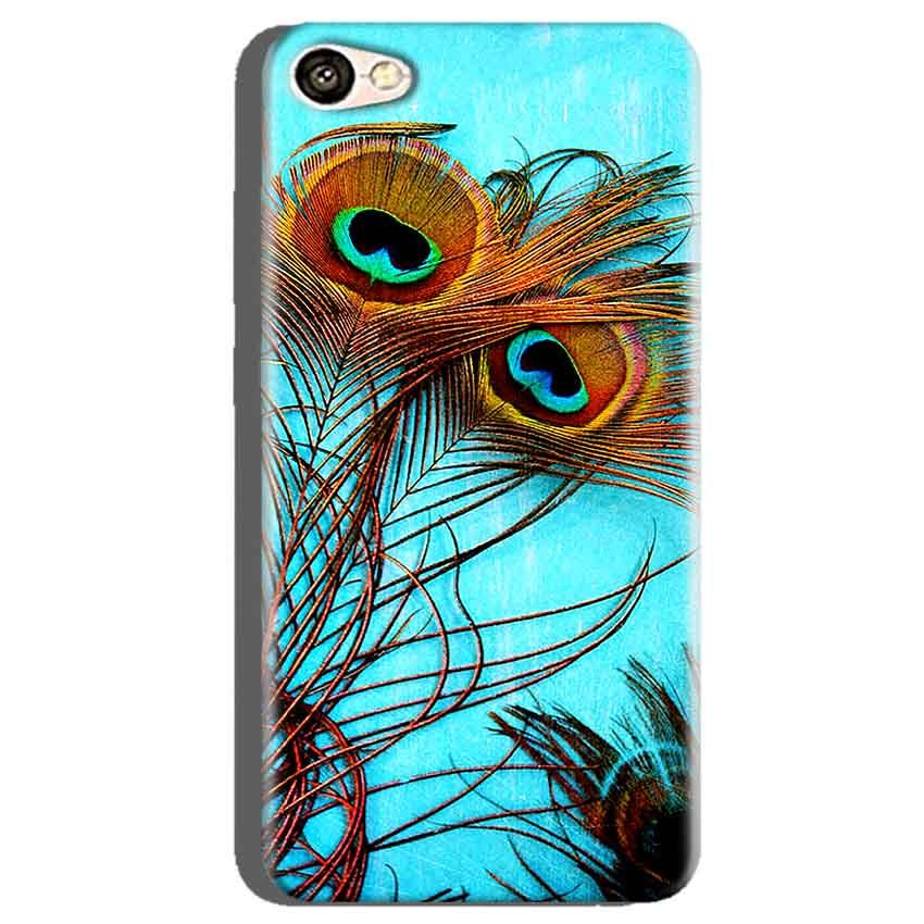 Oppo A71 Mobile Covers Cases Peacock blue wings - Lowest Price - Paybydaddy.com