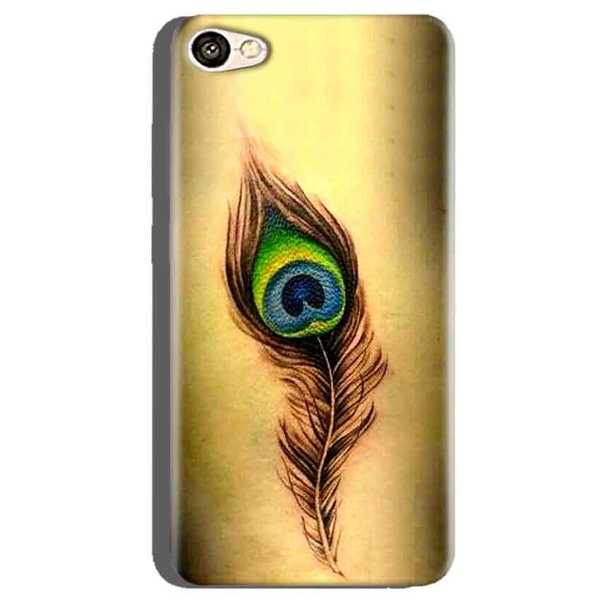 Oppo A71 Mobile Covers Cases Peacock coloured art - Lowest Price - Paybydaddy.com